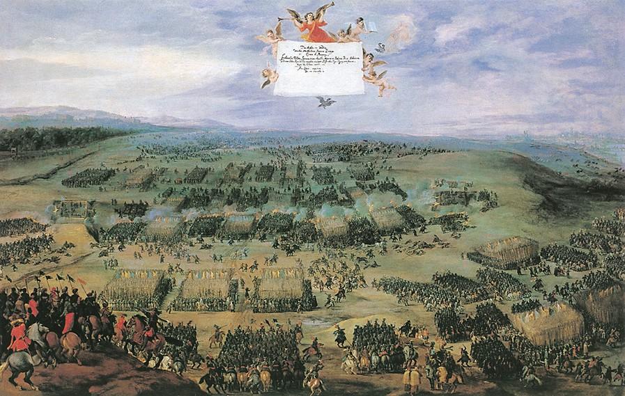 Pieter Snayers (Anversa, 1592 – Bruxelles, 1666/1667), La battaglia della Montagna Bianca Fonte: Wikipedia